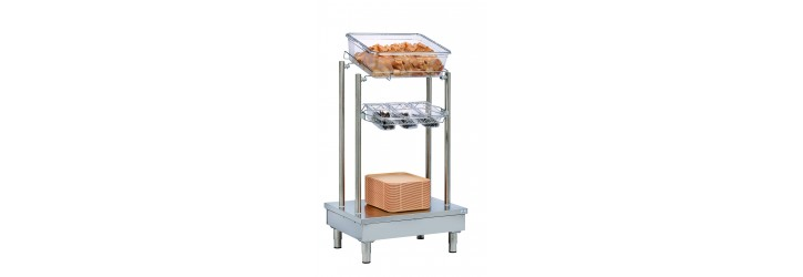 Dispensers for trays, cutlery and bread - OASIS
