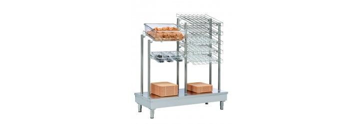 Dispensers for trays,cutlery,bread and glass - OASIS