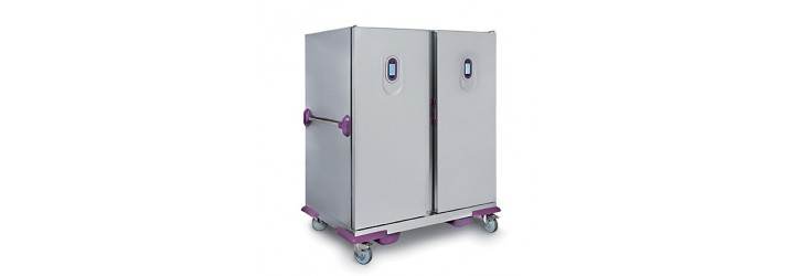 """""""Satellite 4G"""" banqueting trolleys - GN2/1 - Hot and cold models"""