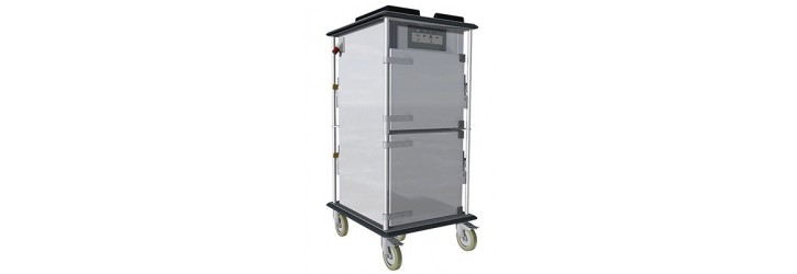Prison distribution trolleys