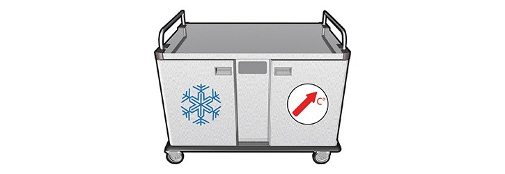 Nomad 2x8- Reheating / Ventilated cold unit