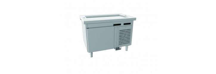 Units with refrigerated units