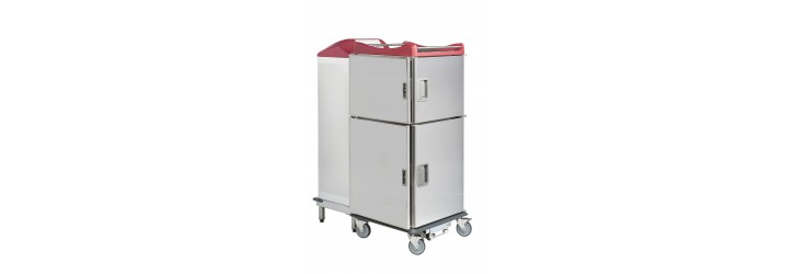 Meal distribution system in hot and cold transfer - Nav'therm