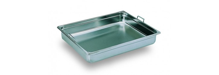 GN2/1 container - With retractable handles