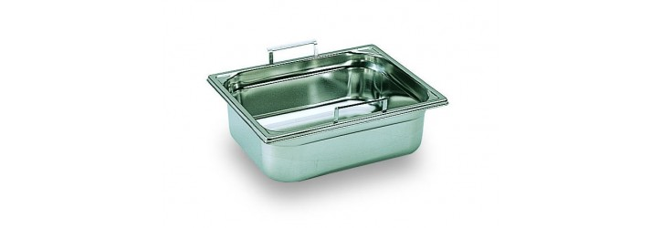 GN1/2 container - With retractable handles