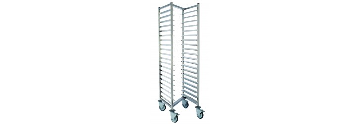 Nestable racking trolleys