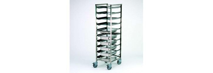 Multi-standard racking trolley