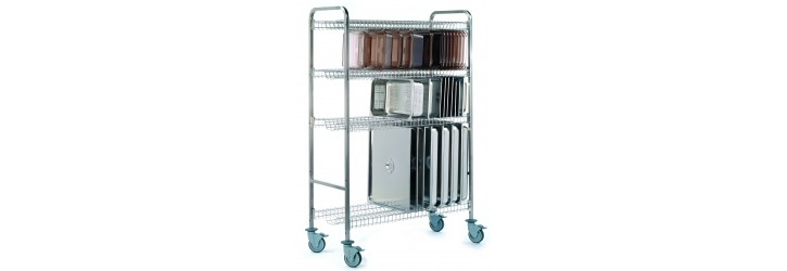 Drip-dry trolleys