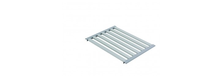 Aluminium shelf rack
