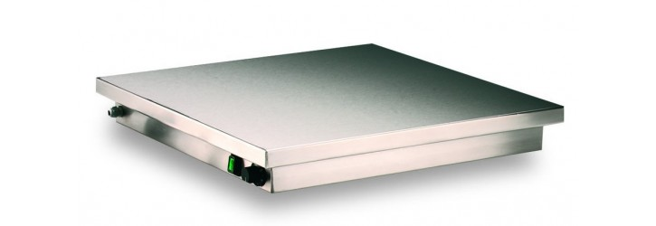 """""""Classic"""" stainless-steel hot plates"""