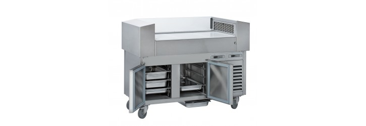 With refrigerated unit